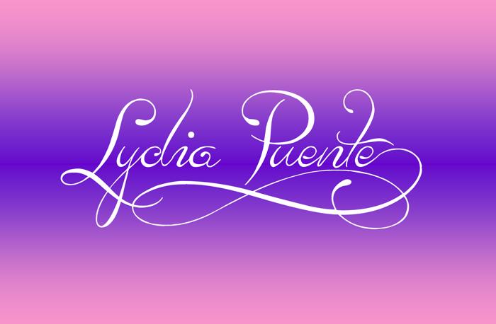 Lydia Puente) Font poster