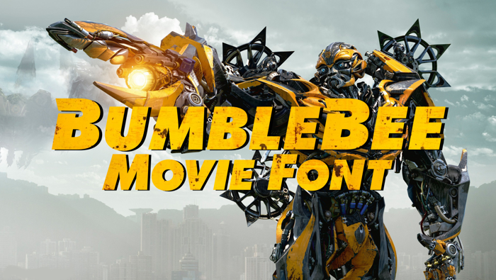 BumbleBeee Font poster