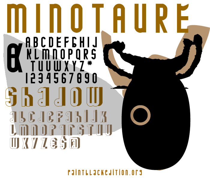 MINOTAURE Font