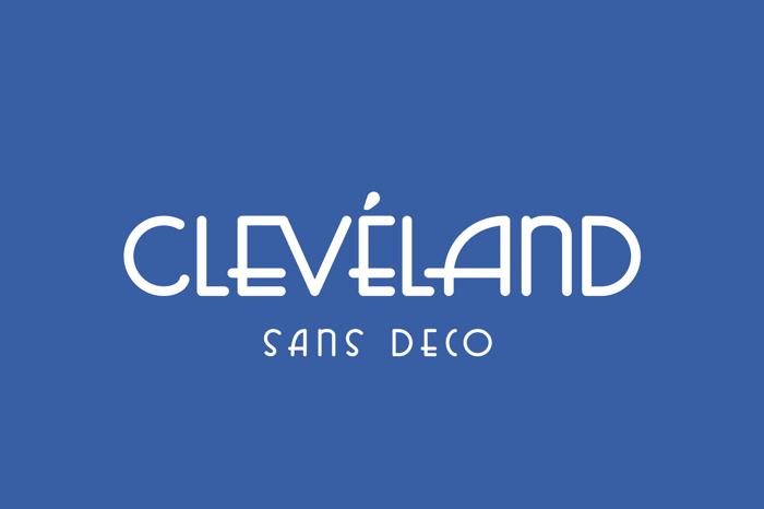 Cleveland Font