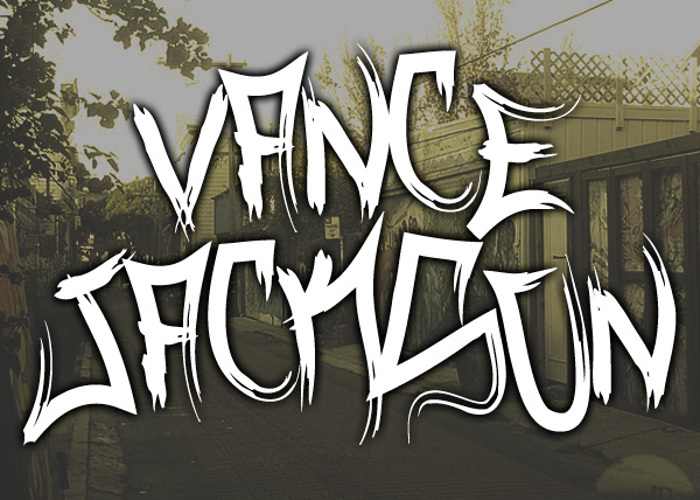 Vance Jackson Font poster