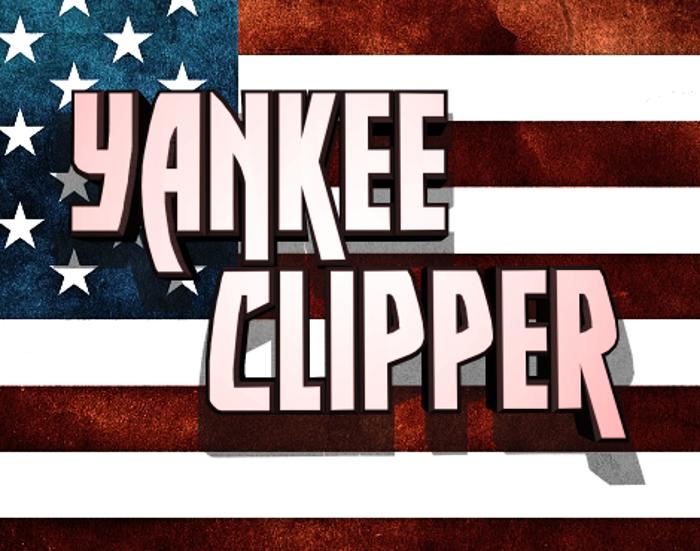 Yankee Clipper Font poster