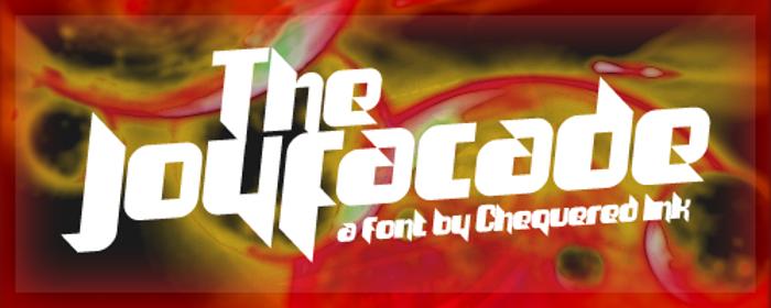 The Joy Facade Font poster
