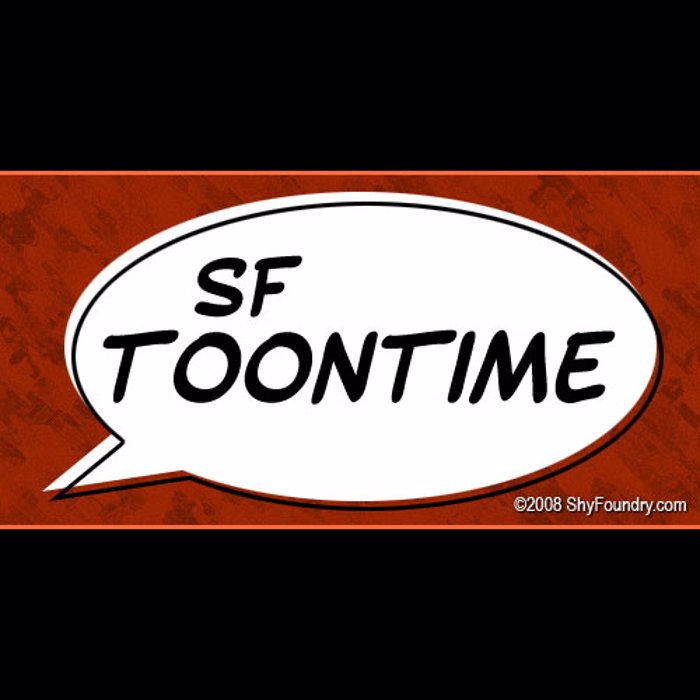 SF Toontime Font poster