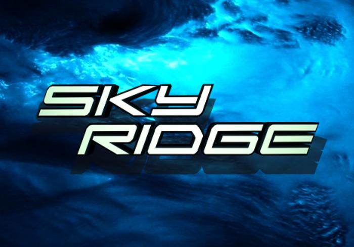 Sky Ridge Font poster