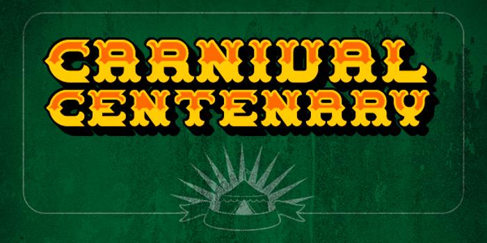 Carnival Centenary Font poster