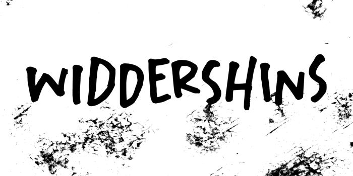 Widdershins DEMO Font poster