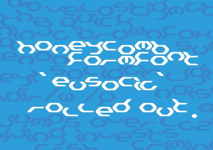 Eusocia Font poster
