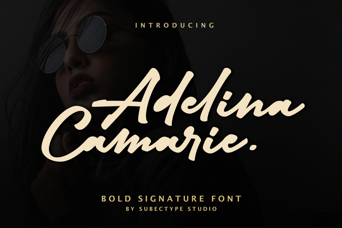 Adelina Camarie Font poster