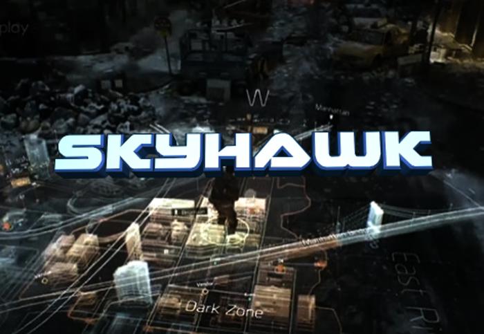 Skyhawk Font poster