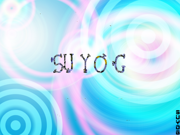Suyog Font poster