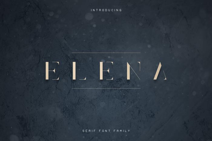 Elena Font poster