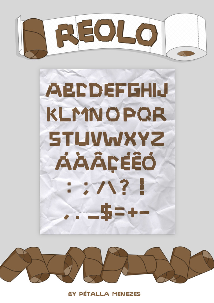 Reolo Font poster