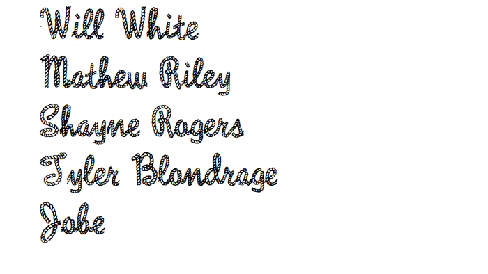 Rope MF Font poster