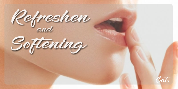 Refreshen and Softening Font poster