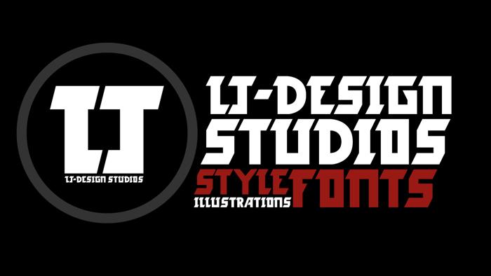 LJ-Design Studios Logo Font poster