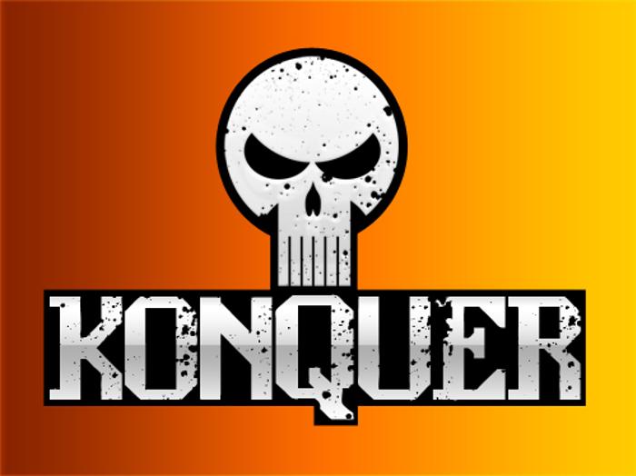 konquer Font poster