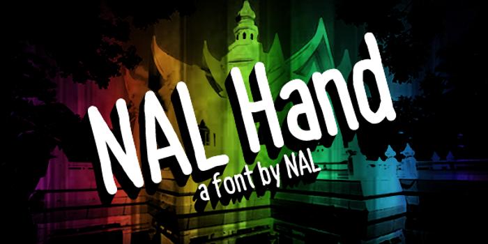 NAL Hand Font