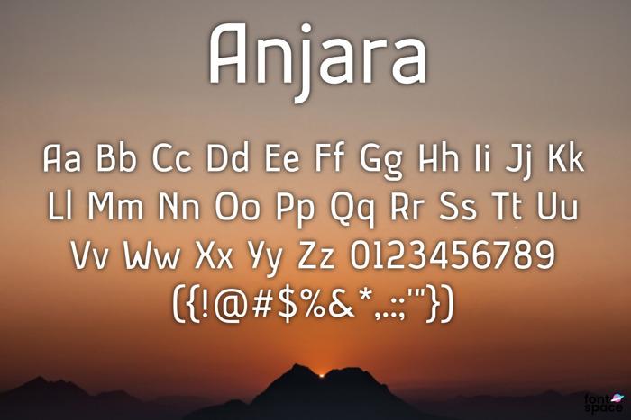 Anjara Font