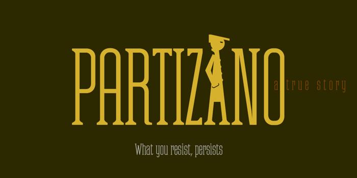 Partizano Font poster