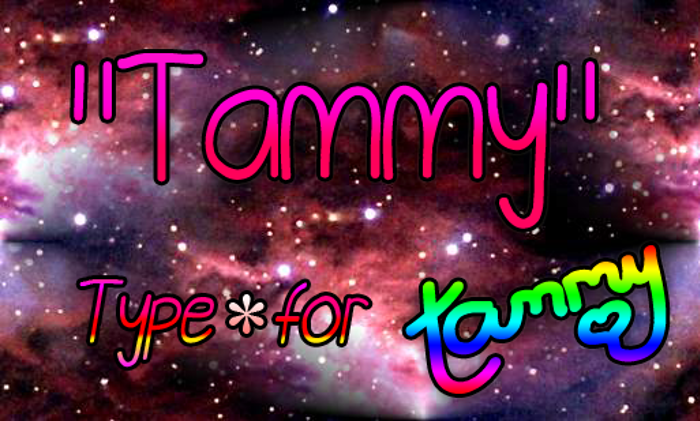 Tammy Font poster