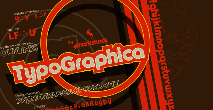 TypoGraphica Font poster