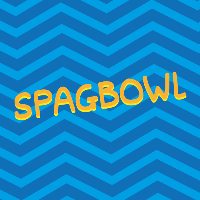 Spagbowl Font poster