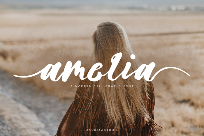 Amelia Font poster