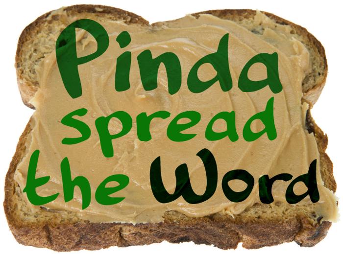 Pinda Font poster