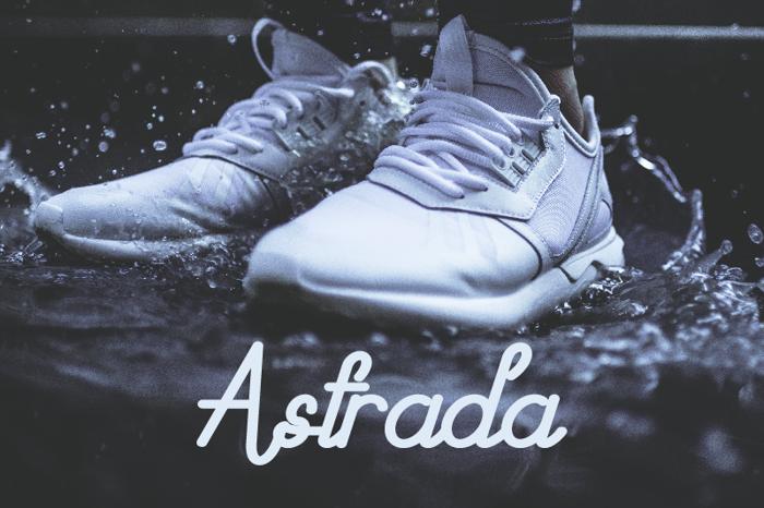 Astrada Font poster