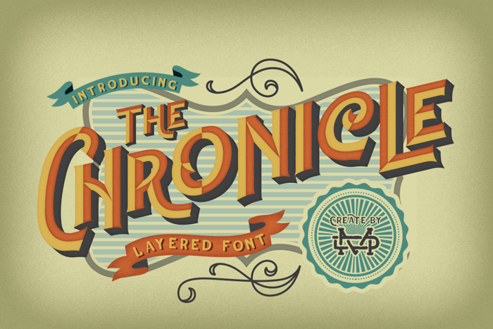 CHrONicLe Font poster