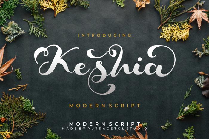 Keshia Font poster