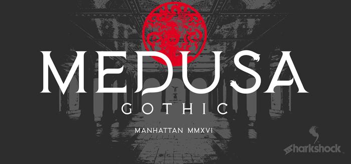 Medusa Gothic Font poster