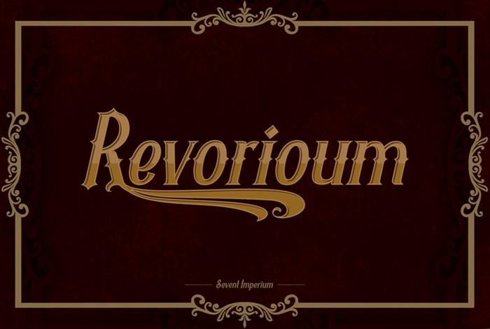 Revorioum Font poster