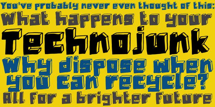 DK Technojunk poster