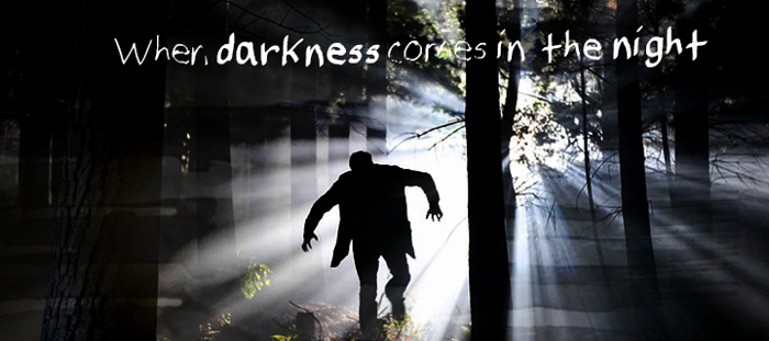 SpookyVHReg Font poster