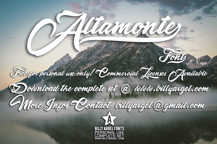 Altamonte Font poster