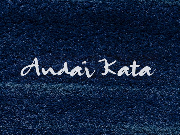 A Andai Kata Font poster