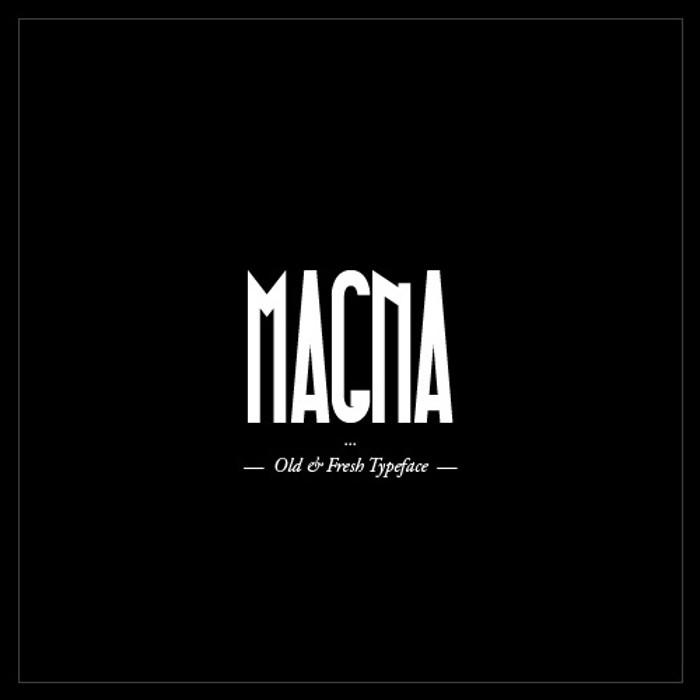 Magna Font poster
