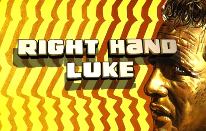 Right Hand Luke Font poster