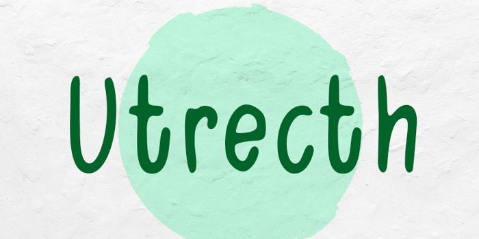 Utrecth Font