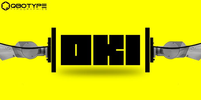 Oki Font poster