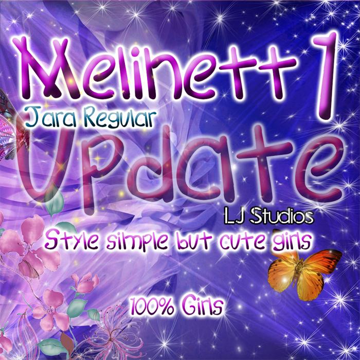 Melinett 1 Font