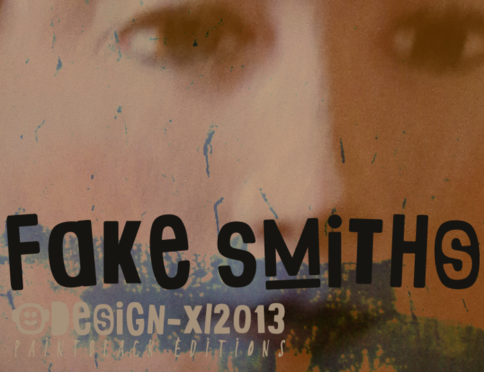 Fake Smiths Font poster