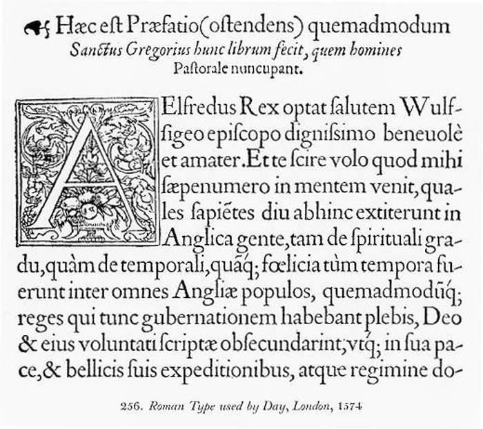 Day Roman Font poster