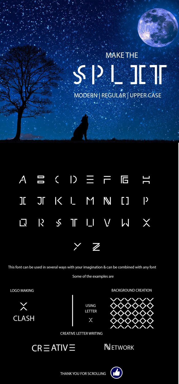 splitfont Font