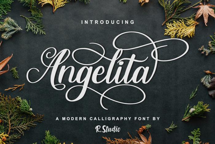 Angelita Font poster