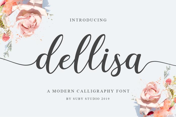 Dellisa Font poster