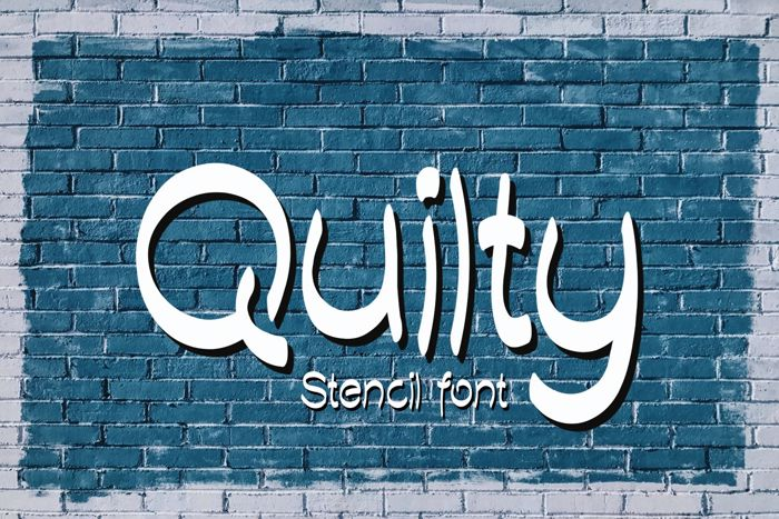 Quilty Demo Font poster