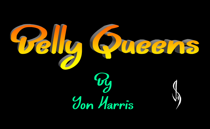 Belly Queens Font poster